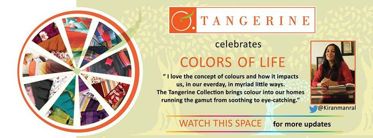We bring you the Spirit of #TangeirneColorsOfLife with Kiran Manral who is a famous Author & Blogger and She thinks Colors have been a safety net of sorts for her, they play a very important role in her life.