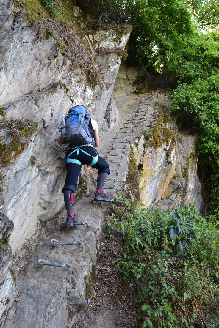 Klettersteig Boppard am Mittelrhein