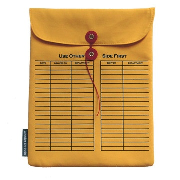 Wonder Threads Envelope iPad Sleeve available on Fab.com