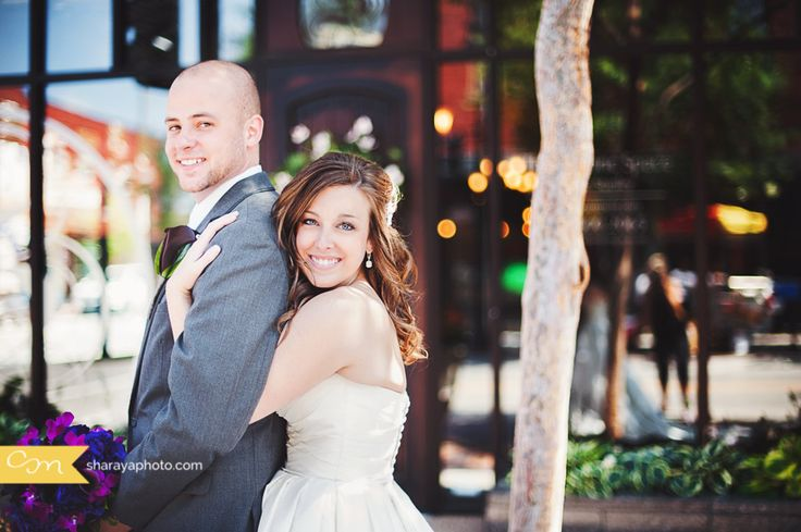 KC Wedding Photography: Travis and Cassie: Lees Summit Aspen Room Wedding. Sharaya Mauck Photography. Kansas City Photographer. Bride and Groom Photos, Wedding Day, Downtown Wedding Photos