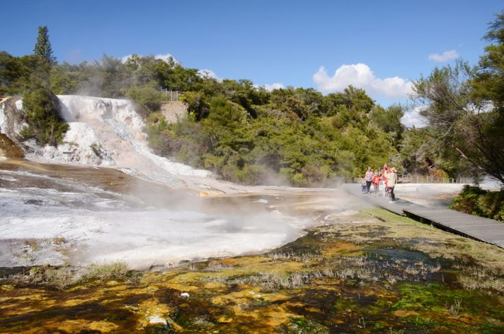 Enjoy a leisurely stroll through the geothermal wonders of The Hidden Valley
