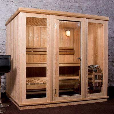 Almost Heaven Saunas LLC Bridgeport 6 Person Sauna