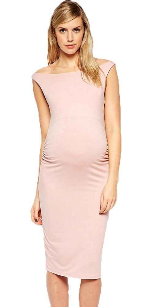c5957ebc50c21 Maternity Dresses - Women Pregnancy Dress Sexy Sleeveless Off The Shoulder  Maternity Clothes * Have a look at this wonderful product.