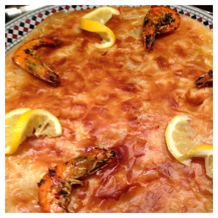 Fish bastilla (fish pastry)
