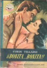 COLECCION MADREPERLA Nº 229 EDI.BRUGUERA 1953-CORIN TELLADO -BONITA..BONITA -LOZANO OLIVARES PORTADA