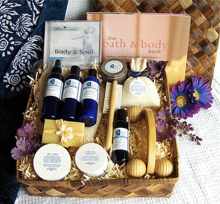 Rejuvenation Spa Gift Basket: We have included everything in this spa gift basket for a pampering and restorative spa sanctuary. The amazing treatment of our exfoliating body scrub, rejuvenating blend of essential oils, French green clay mask and nourishing face cream will help you to feel invigorated and give you a younger and healthier glow.  http://www.blissfulbalance.com/rejuvenation-spa-gift-basket/