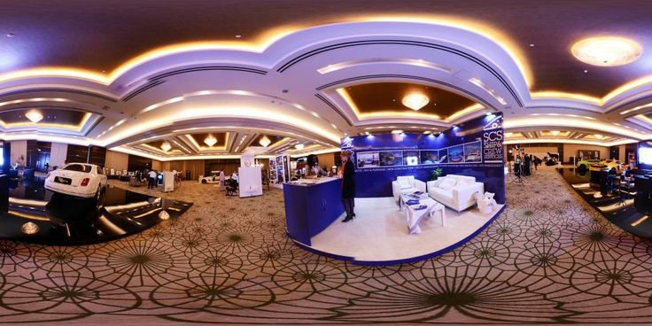 Panoramic view of World Luxury Expo, Doha #4