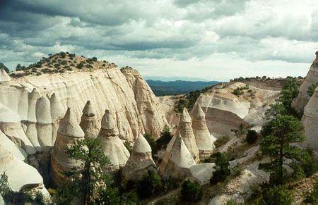Tent Rocks National Monument, near Santa Fe, New Mexico