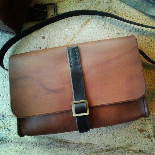 Leather hand made Borsa del Pellegrino