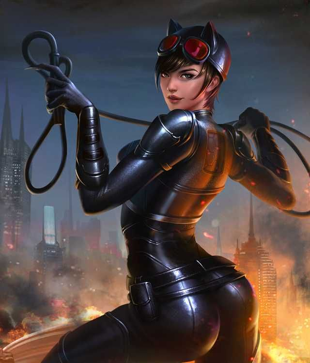 Injustice 2 Mobile Roster Catwoman Batman And Catwoman Superhero Art