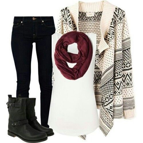 21 Perfect Winter Outfits for School 2015 #outfits2015 #winter_outfits2015 #schooloutfits2015