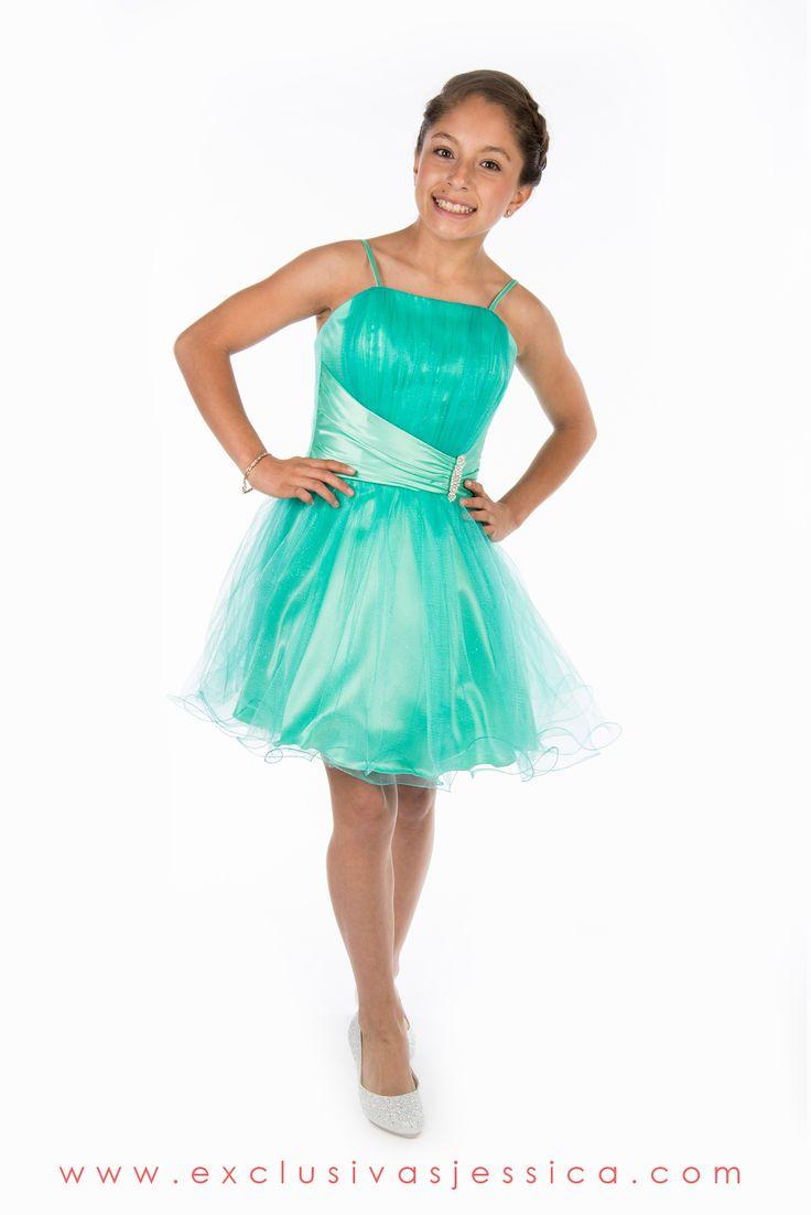 Vestidos verde jade cortos para promocion