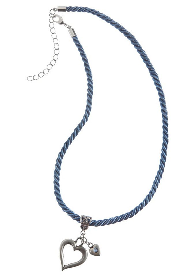 Trachtenhalskette Damen mit Herzanhänger, Gr. , blau, Halsschmuck, 500036-0 Jetzt bestellen unter: https://mode.ladendirekt.de/damen/schmuck/halsketten/ketten-mit-anhaenger/?uid=61212e35-79bc-534c-9ce4-eb65f3a56355&utm_source=pinterest&utm_medium=pin&utm_campaign=boards #schmuck #halsketten #kettenmitanhaenger