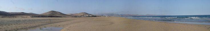 Panoramica - Fuerteventura - Playa de Sotavento de Jandia