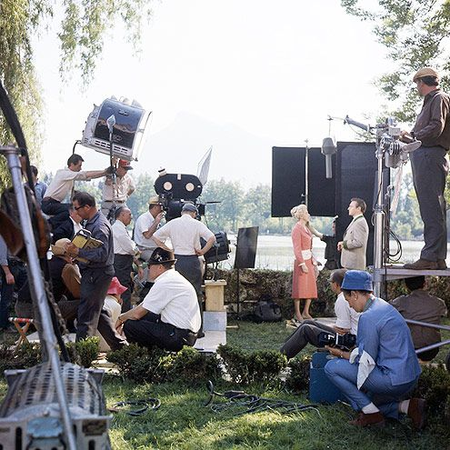 "1965 Behind the Scenes on The Sound of Music, 50 Years Later | OFFSCREEN ROMANCE | Plummer, shooting a scene with Eleanor Parker (the Baroness), recalls the actress ""had great fun because she fell in love with the cameraman."