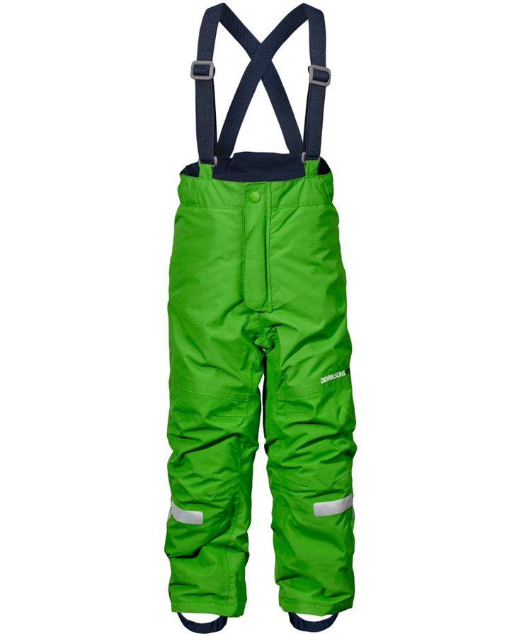 Didriksons Idre Kids Ski Pants - Kryptonite