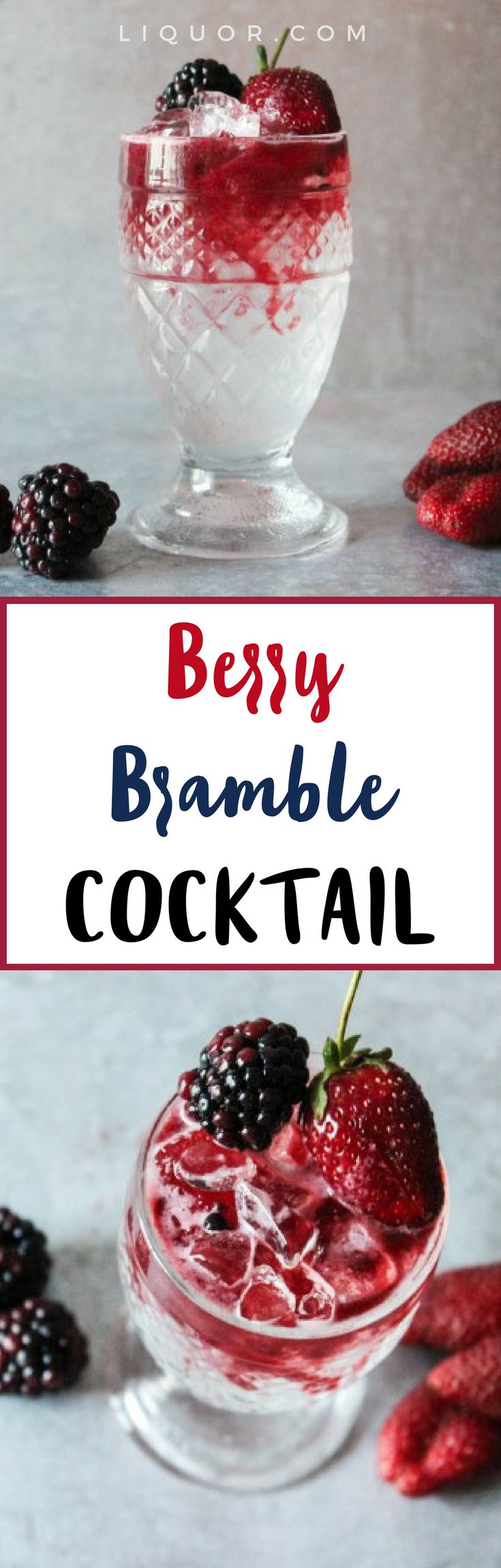 We're obsessed with this #berry #cocktail that's perfect for #Spring and #Summer.