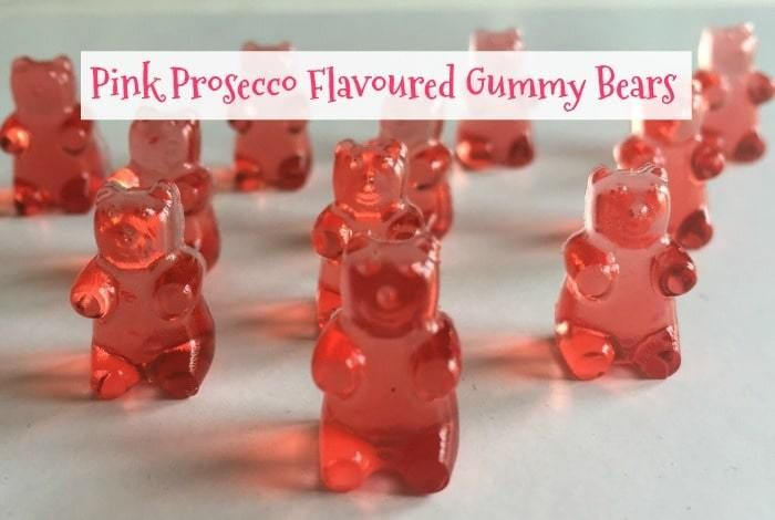 Pink Prosecco Flavoured Gummy Bears
