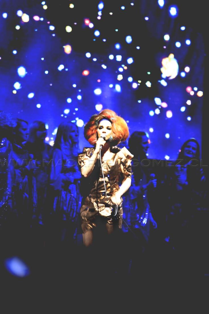 Björk - Lollapalooza 2012, Chile