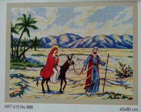 Σταμπαριστή εικόνα χρωματιστή,πάνω σε καμβά,τιμή 21.50. Γιούλη Μαραβέλη,τηλ 2221074152