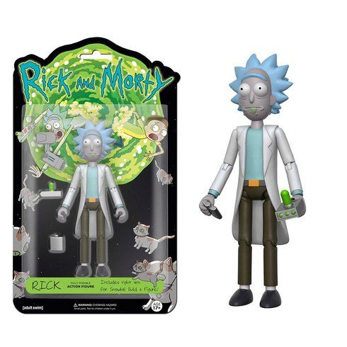 Superb Rick & Morty: Rick 12cm Figure Now At Smyths Toys UK! Buy Online Or Collect At Your Local Smyths Store! We Stock A Great Range Of Other Action Figures & Playsets At Great Prices.