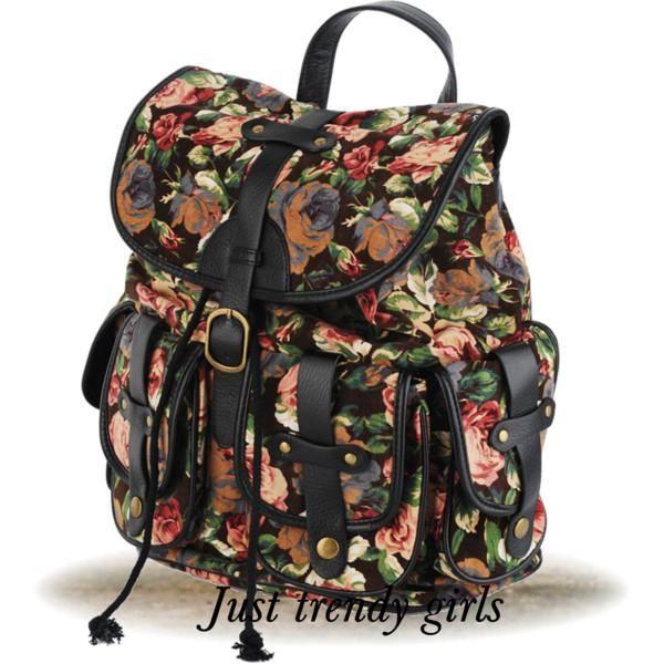 floral bag for college Trendy backpacks for girls http://www.justtrendygirls.com/trendy-backpacks-for-girls/