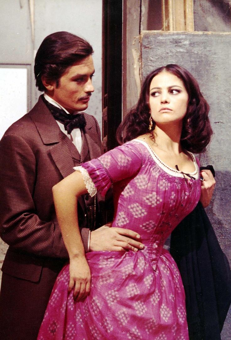Alain Delon & Claudia Cardinale in The Leopard (dir. Luchino Visconti)