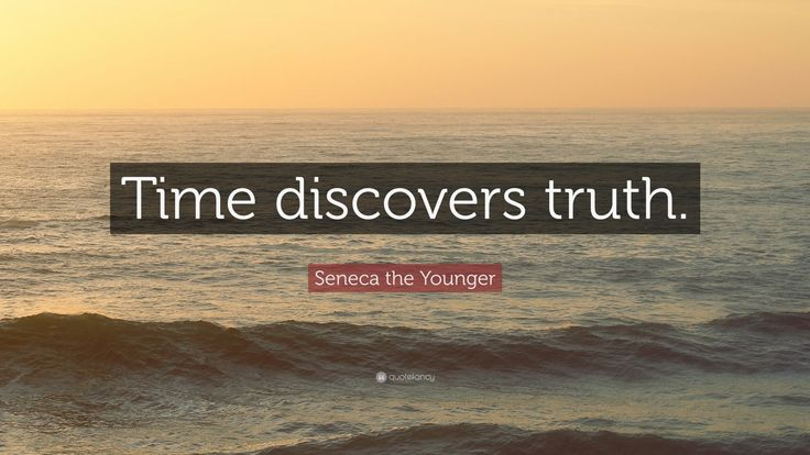 "Seneca the Younger Quote: ""Time discovers truth."""