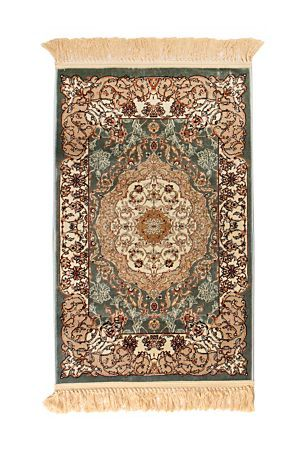 "This silky floor rug is rich in texture, colour and design and adds a sense of warmth to any room. Used as a focal point or as a base carpet in the lounge, the intricate weave of polypropylene is durable and most certainly impressive. Available across size.<div class=""pdpDescContent""><BR /><b class=""pdpDesc"">Dimensions:</b><BR />L200xW140 cm<BR /><BR /><b class=""pdpDesc"">Fabric Content:</b><BR />100% Polypropylene<BR /><BR /><b class=""pdpDesc"">Wash Care:</b><BR>Spot Clean</div>"
