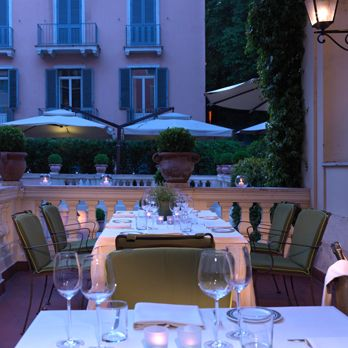 On the Agenda: Dining at Hotel de Russie