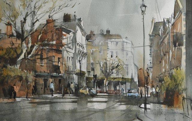 Akvarellkurs med John Hoar, England