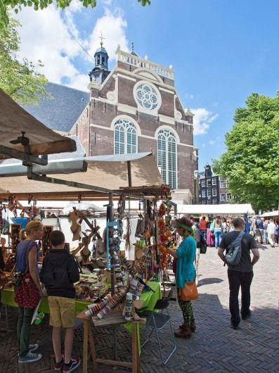 Noordermarkt - Amsterdam. The Netherlands