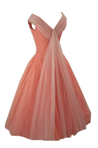 1940's and 1950's style dress - depending on length. Vintage style dress. Bridesmaid