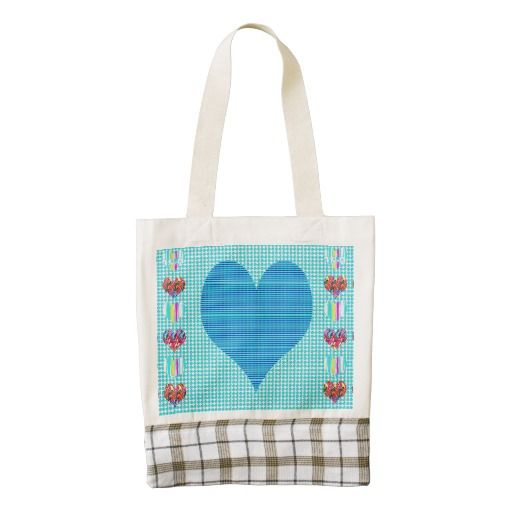 HEART Tote Artistic Graphic Abstract Unique style Zazzle HEART Tote Bag