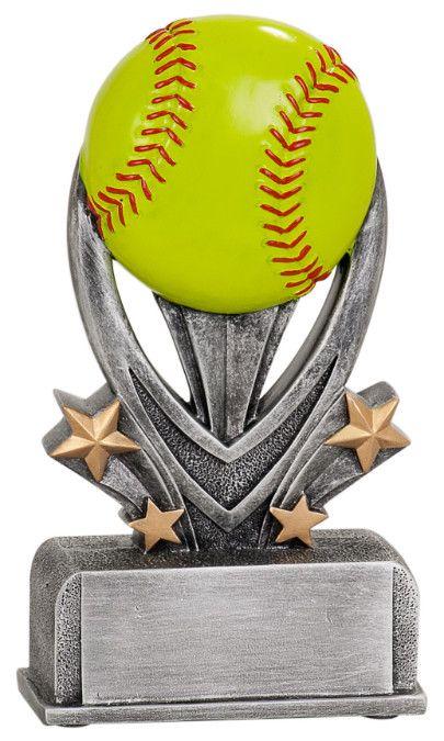 Varsity Sport Resin Softball Trophy - Multiple Sizes
