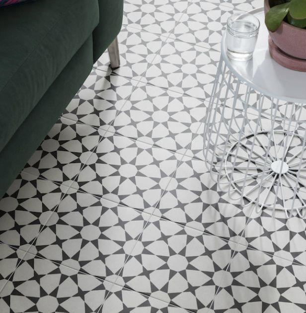 Trend Pattern Floor Tiles Ctd Come Take A Look Tiledealer Best Prices In The Uk Modern Vintage Bathroom Patterned Floor Tiles Restaurant Flooring