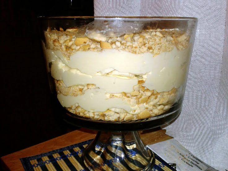 banana pudding with cream cheese