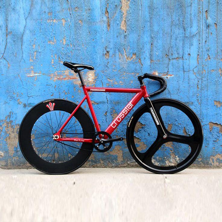 Fixed Gear Bike Fixie Bike Aluminum 53/55/58cm DIY 700C Muscular Frame Bicicleta Bike Aluminum Fixie Bicycle Fixed Gear bike #Affiliate