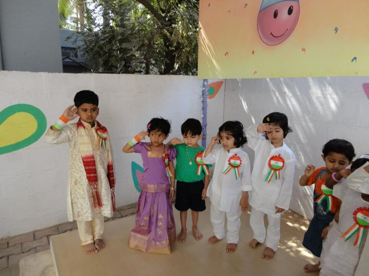 Republic Day Celebration at Play School in Electronic City Little Elly Branch