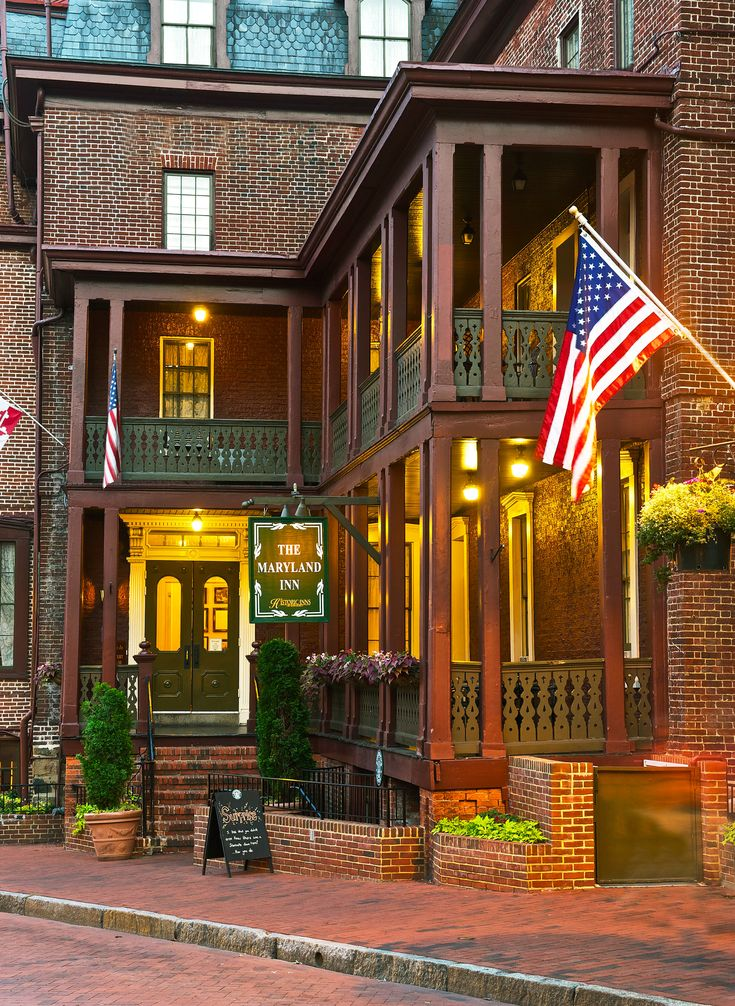 Historic Inns of Annapolis—Annapolis, Maryland. #Jetsetter