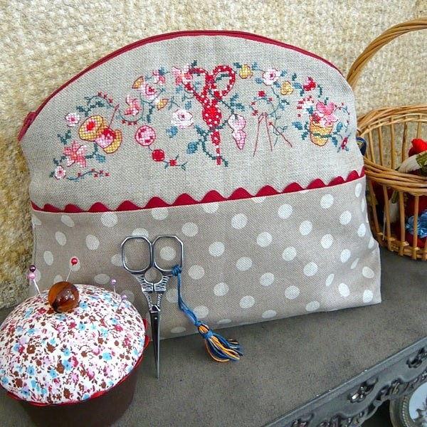 Gallery.ru / Фото #28 - 9 - mikolamazur  bag with lovely sewing / floral matif