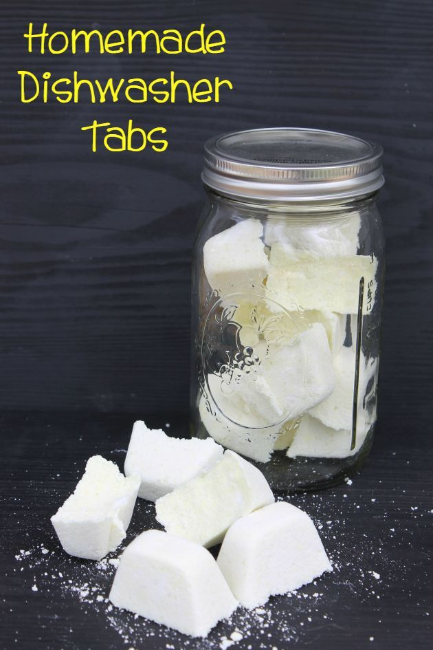Love the convenience of dishwasher tabs but hate the price? Try this Spring Cleaning Hack and make these easy to make Homemade Dishwasher Tabs.