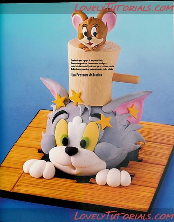 Tom & Jerry Tutorials for Cake or Clay