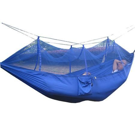 Newest Handy Slipping bags Hammock Parachute Fabric Mosquito Net Hammock Single Person Portable Outdoor Camping Hangmat