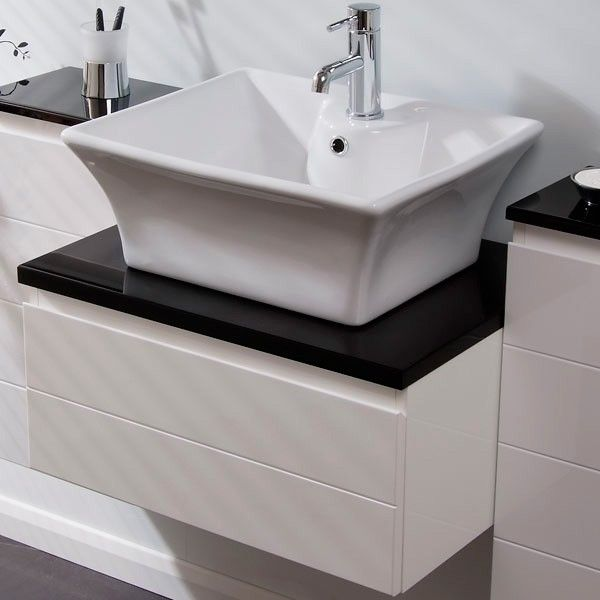 The Superior Counter Top Basin, Priced At £45.95. A Cubed Counter Top Basin