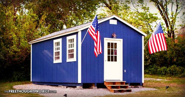 This tiny home village outside Kansas City constructed by veterans provides homeless vets housing at no cost, and even offers medical care.