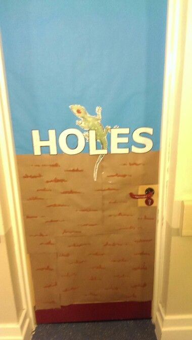 Classroom Ideas For World Book Day ~ Dress your door like s book cover world day