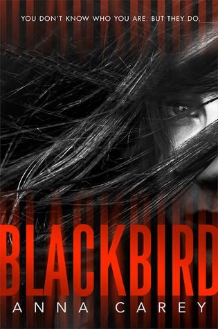 """Blackbird by Anna Carey. """"A teenage girl wakes up on the Los Angeles subway tracks with no memory of who she is or how she got there. One thing she does know is that people are trying to kill her, and she must race to uncover her past and outwit her hunters before it's too late"""" -Provided by publisher"""