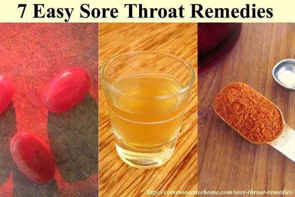 Keelpijn remedies niet hoeft te komen van de drogisterij - snel en eenvoudig verlichting kan direct in je voorraadkast zijn.  7 Home remedies voor keelpijn pijn.