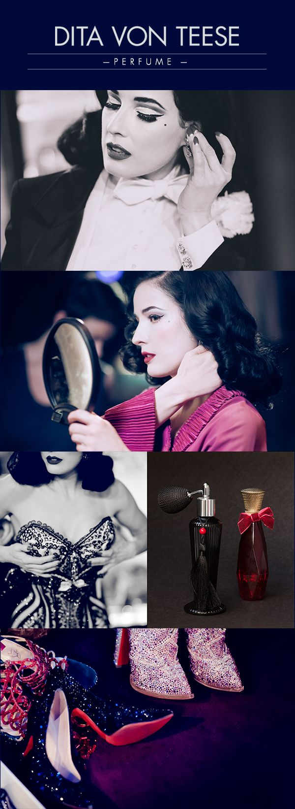 The glamour of Dita Von Teese!